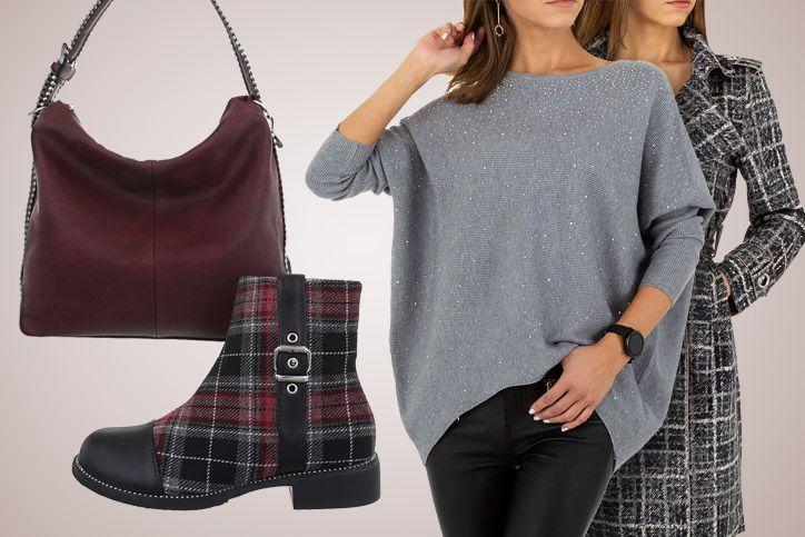 Big Bag Comfort – Dein komplettes Casual Outfit mit großer Tasche zum günstigen Onlinepreis