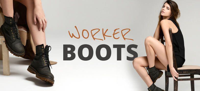 Worker Boots | So kombinierst Du diese Stiefeletten perfekt