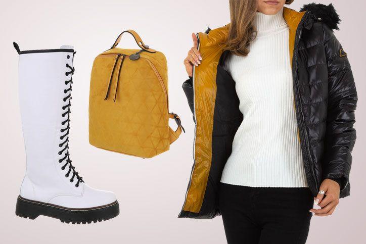 Boot Fashionista – Dein Trendlook mit flachen weißen Schnürboots zum günstigen Onlinepreis