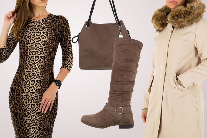 Boot Diva – Klassische braune Stiefel mit flachem Absatz günstig kaufen und richtig elegant stylen