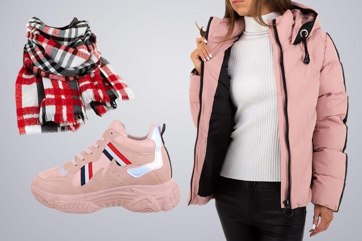 Sporty Girl – Bestell Dir Deinen winterlichen Sporty Style mit Sneakers günstig mit wenigen Klicks