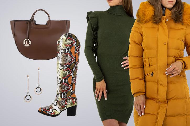 Fashion Lady – Dein eleganter Winterlook mit schicken Stiefeln zum günstigen Einkaufspreis