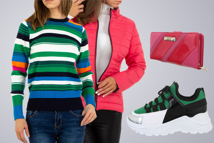 Colored Casual – Legere Fashion im Color Blocking Style günstig bestellen und perfekt kombinieren