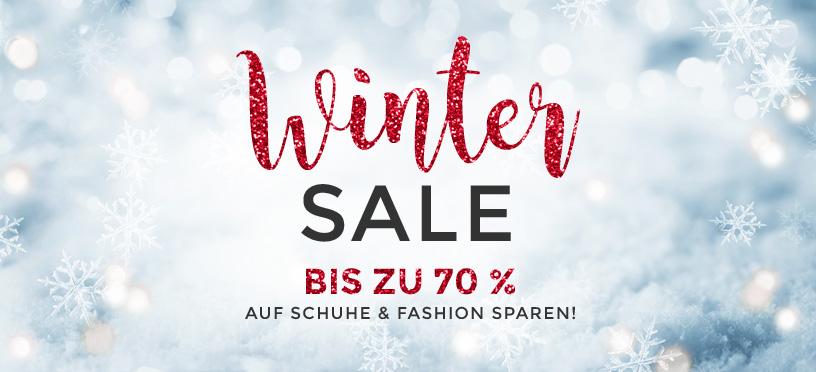 Winter Sale | Bis 70 % Rabatt auf Schuhe & Fashion