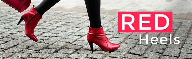 RED HEELS | Schicke rote Schuhe richtig stylen