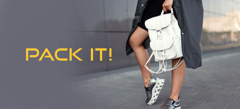 PACK IT! | So stylst Du Dein Outfit mit Rucksack