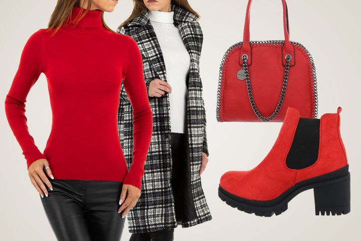 London Heels – Rote Boots mit Absatz günstig bestellen und gekonnt im City-Look stylen