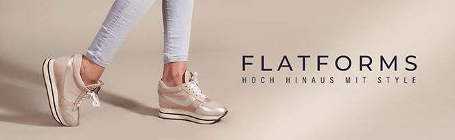 FLATFORMS | Dein neues Outfit mit Plateauschuhen