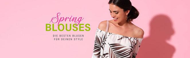 SPRING BLOUSES | So geht Dein Look mit Frühlingsbluse
