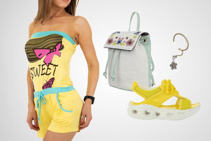 Beach Girl – So stylst Du Deinen kurzen Sommer-Jumpsuit zum günstigen Onlineeinkaufspreis