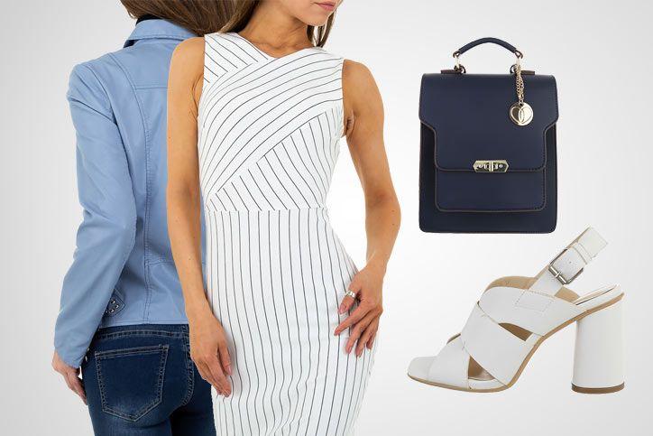 White Heels – So klappt der schicke Look mit günstigen weißen Sandaletten aus dem Onlinehandel