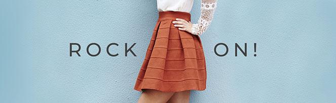ROCK ON | Dein Look mit Sommerrock