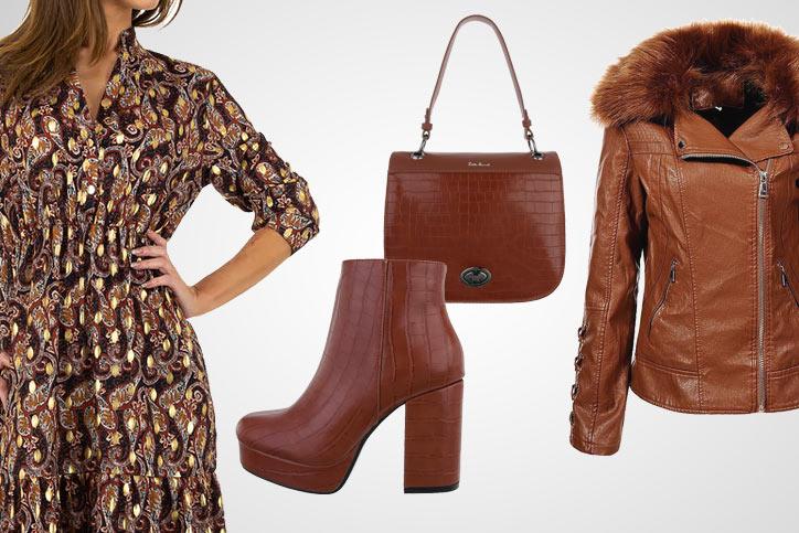 Heeled Fashionista – Dein Herbstoutfit mit hohen Plateaustiefeletten zum günstigen Onlinepreis