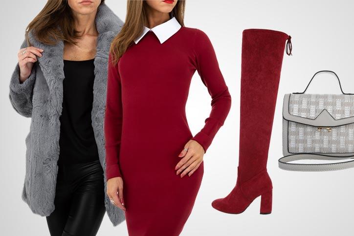 Overknee Elegance – Dein schickes Outfit mit High-Heel Overknees zum günstigen Onlinepreis