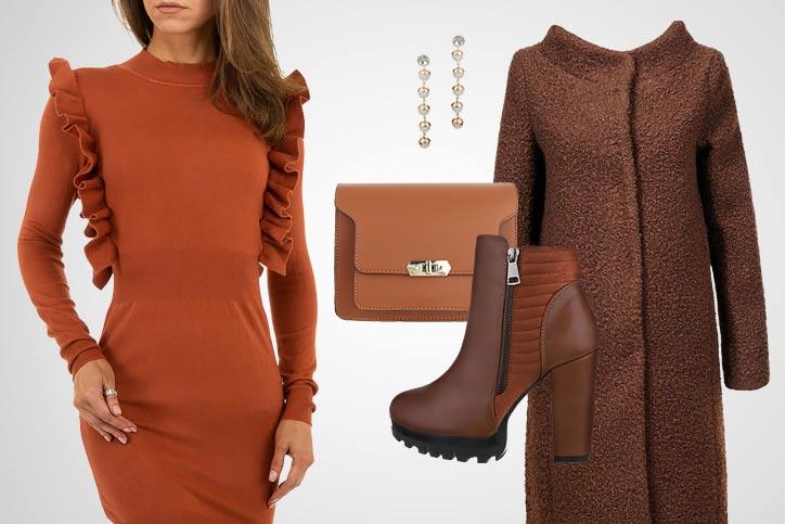 Elegant gestrickt – Dein schicker Herbstlook mit tollem Strickkleid zum günstigen Onlinepreis