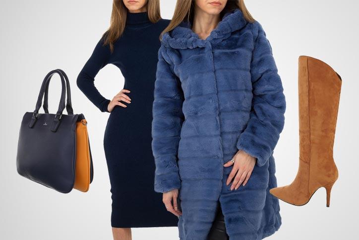 Winter Elegance – Dein schicker Look mit langem Wintermantel zum günstigen Onlinepreis