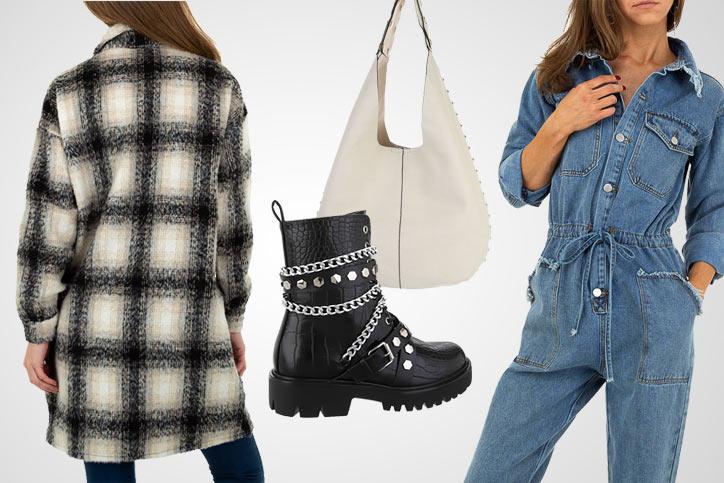 Hipster Girl – Jumpsuit und Shacket günstig online kaufen und mega lässig mit Boots stylen