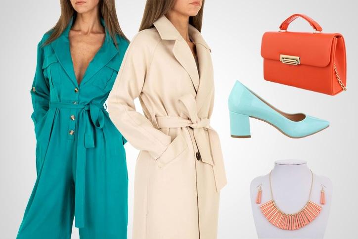 Petrol Lady – Deinen günstigen Color Blocking Style mit schickem Jumpsuit jetzt online einkaufen