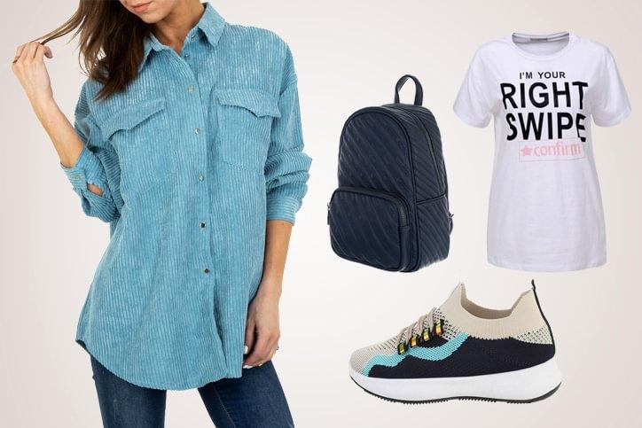 Blouse Casual – Trendige Hemdbluse günstig shoppen und richtig lässig zum Freizeitlook stylen