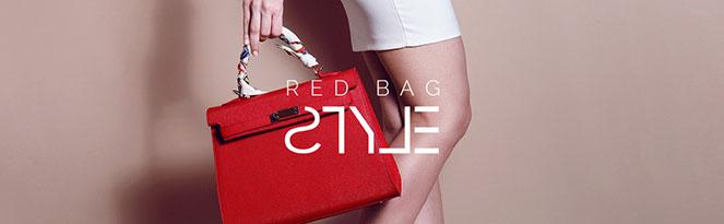 RED BAGS | Rote Handtaschen toll kombinieren