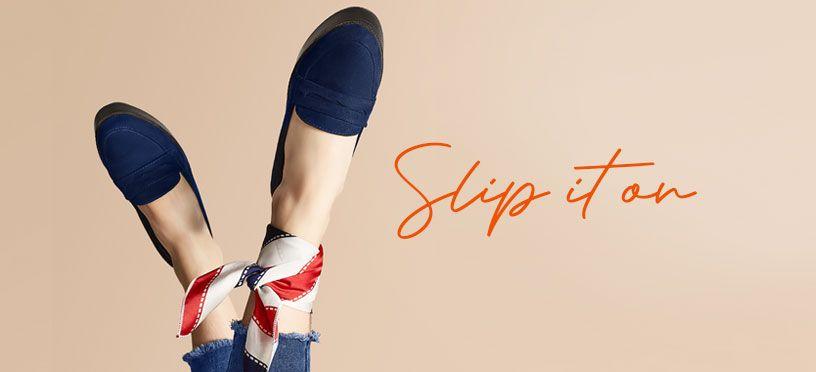 SLIP IT ON | Perfekte Looks mit Damenslippern