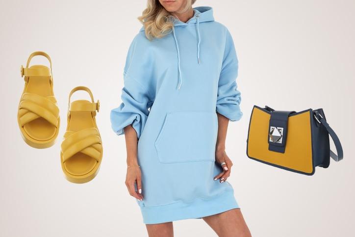 Sporty Casual – Dein lässiger Sporty Style mit Hoodie-Kleid zum günstigen Onlineeinkaufspreis