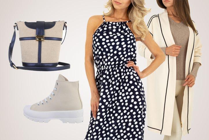 London Dress – Sommerkleid günstig bestellen und dann extrem lässig mit Sneakers stylen