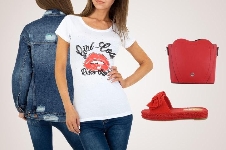 Mules Casual – Dein lässiger Summer Look mit günstigen flachen Damenpantoletten in Rot