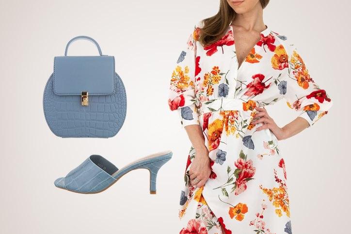 Mules Elegance – Die perfekte Kombi aus Sommerkleid und Heeled Mules zum billigen Onlinepreis