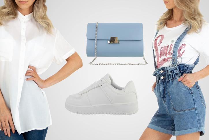 Sneaker Girl – Dein lässiger Summer Style mit weißen Turnschuhen zum günstigen Onlinepreis