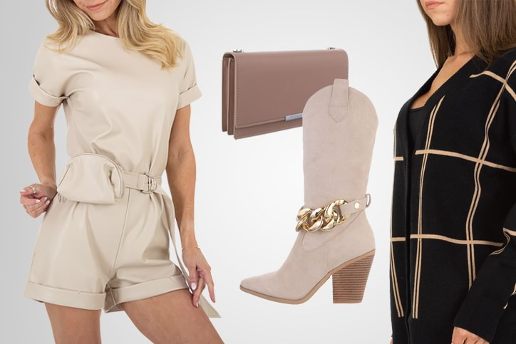Cowgirl Outfit mit Westernstiefel