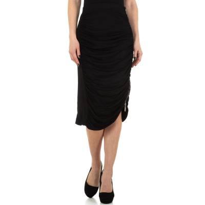 Stretchrock für Damen in Schwarz