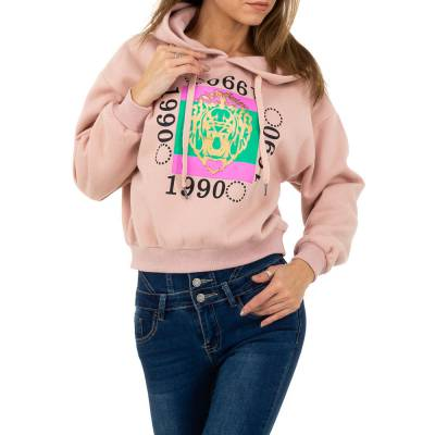 Sweatshirt für Damen in Rosa