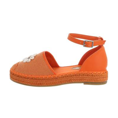 Espadrilles für Damen in Orange