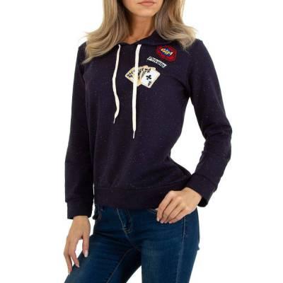 Sweatshirt für Damen in Dunkelblau