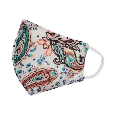 Verstellbare Gesichtsmaske Mundschutz Maske Weiß