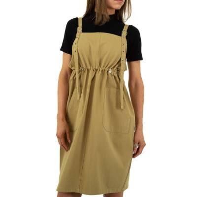 Jeanskleid für Damen in Beige