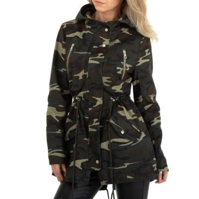 Übergangsjacke für Damen in Dunkelgrün