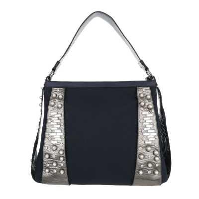 Große Damen Tasche Dunkelblau