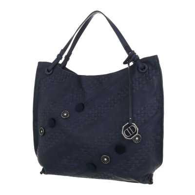 Mittelgroße Damen Tasche Dunkelblau