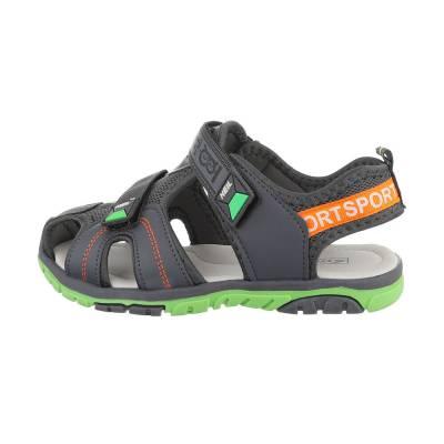 Sandalen für Kinder in Grau