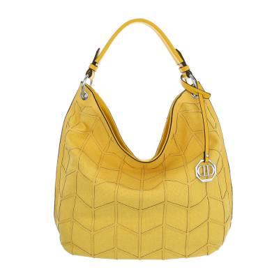 Große Damen Tasche Gelb