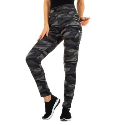 Skinny-Hose für Damen in Grau und Camouflage