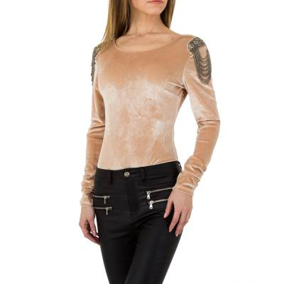 Body für Damen in Beige