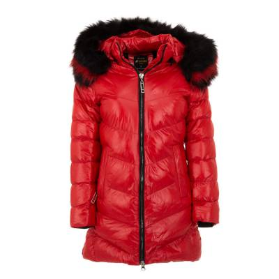 Winterjacke für Damen in Rot
