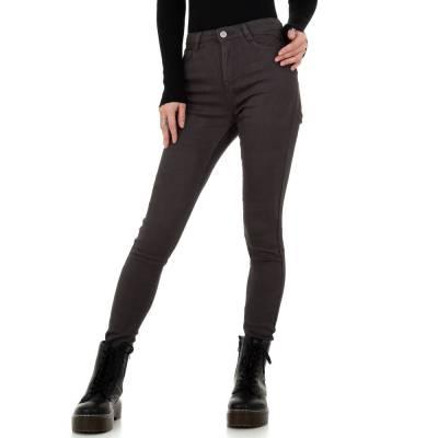 High Waist Jeans für Damen in Braun