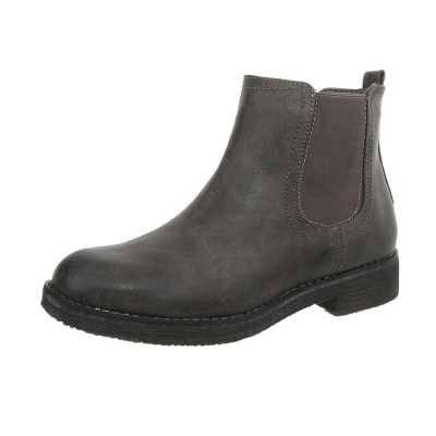 Chelsea Boots für Damen in Grau und Braun