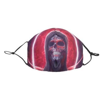 Verstellbare Gesichtsmaske Mundschutz Maske Rot