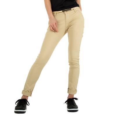 Skinny-Hose für Damen in Creme