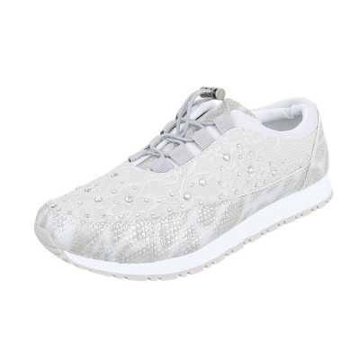 Sneakers low für Damen in Silber